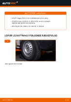 Skift Støddæmper VW TRANSPORTER: pdf gratis