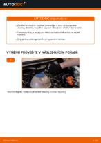 Jak vyměnit zadní brzdové destičky kotoučové brzdy na VOLKSWAGEN TRANSPORTER T4 (70XB, 70XC, 7DB, 7DW)