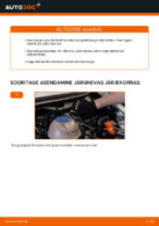ATE 25684 eest AUDI, SEAT, SKODA, VW | PDF asendamise õpetused