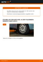 Wie Sie den Unterarm der vorderen Einzelradaufhängung am FIAT PUNTO II (188) ersetzen