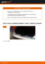 Changement Ressort pneumatique de coffre FIAT PUNTO : tutoriel en ligne