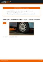 Comment changer et régler Triangle de suspension FIAT PUNTO : tutoriel pdf