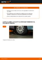 Cómo sustituir los extremos de la barra de acoplamiento de dirección en FIAT PUNTO II (188)