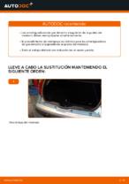 Cómo sustituir los amortiguadores de gas de la puerta del maletero en FIAT PUNTO II (188)