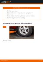 Hur byter man och justera Yttre styrled : gratis pdf guide