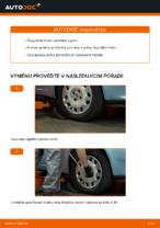 Jak vyměnit čepy táhla na FIAT PUNTO II (188)