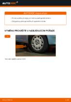 Jak vyměnit spodní rameno předního nezávislého zavěšení kol na FIAT PUNTO II (188)