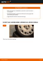FIAT - remondi käsiraamatud koos illustratsioonidega