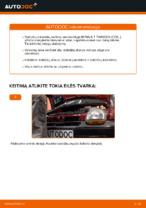 Automechanikų rekomendacijos RENAULT Twingo c06 1.2 16V Rato guolis keitimui