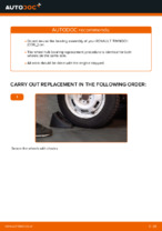 PDF Repair tutorial of car spares: RENAULT CLIO 3 (BR0/1, CR0/1)