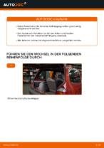 Stoßdämpfer wechseln RENAULT TWINGO: Werkstatthandbuch