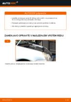 Kako zamenjati sprednje zavorne ploščice za kolutne zavore na VOLKSWAGEN POLO IV (9N_)