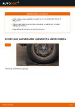 Kuidas vahetada ja reguleerida Rattalaager VW POLO: pdf juhend