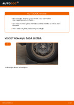 Riteņa rumbas gultnis maiņa: pdf instrukcijas VW POLO