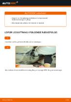 Hvordan man udskifter brændstoffilter på VOLKSWAGEN PASSAT B5 3B6