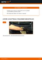 Sådan udskifter du bagbremsekaliber på VOLKSWAGEN PASSAT B5 3B6