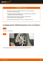 Jak wymienić mocowanie kolumny resorującej przedniej w VOLKSWAGEN PASSAT B5 3B6