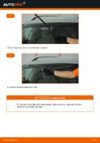 Ako vymeniť lištu predného stierača na aute VOLKSWAGEN PASSAT B5 3B6