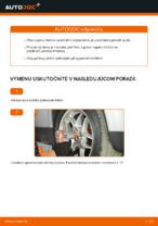 Ako vymeniť vzperu predného tlmiča na aute VOLKSWAGEN PASSAT B5 3B6