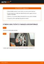 Ako vymeniť uloženie prednej vzpery zavesenia kolies na VOLKSWAGEN PASSAT B5 3B6