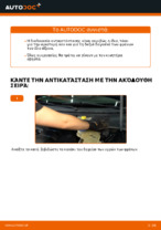 Πώς αλλαγη Δαγκανα φρενου πίσω και εμπρος VW PASSAT Variant (3B6) - εγχειριδιο online