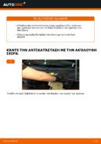 Βήμα-βήμα PDF οδηγιών για να αλλάξετε Δαγκάνα φρένων σε VW PASSAT Variant (3B6)