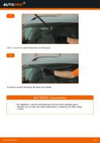 Mudar Escovas de para brisa dianteiro e traseiro VW faça você mesmo - manual online pdf