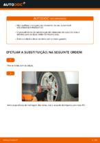 Instalação Jogo de rolamentos de roda VW PASSAT Variant (3B6) - tutorial passo-a-passo