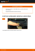 Kuidas asendada tagumist pidurisadulat VOLKSWAGEN PASSAT B5 3B6