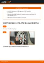 Kuidas asendada esimest VOLKSWAGEN PASSAT B5 3B6 amortisaatoripüstakut