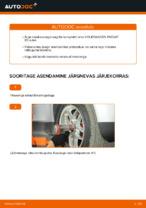 Paigaldus Rattalaager VW PASSAT Variant (3B6) - samm-sammuline käsiraamatute