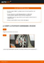 Hogyan cseréljünk Csapágy Tengelytest VW PASSAT Variant (3B6) - kézikönyv online