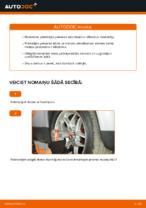 Kā nomainīt priekšējā amortizatora statnes balstu automašīnai VOLKSWAGEN PASSAT B5 3B6