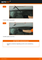 Pakeisti Valytuvo gumelė VW PASSAT: instrukcija