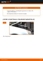 Hvordan man udskifter motorens luftfilter på VOLKSWAGEN POLO IV (9N_)