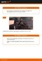 Hvordan man udskifter viskerblade i for på VOLKSWAGEN POLO IV (9N_)