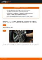 Manuale online su come cambiare Ammortizzatori VW GOLF