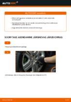 Kuidas vahetada tagumise suspensiooni amortisaatoreid autol VOLKSWAGEN GOLF IV