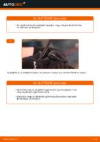 Online ingyenes kézikönyv - Ablaktörlő VW POLO (9N_) csere