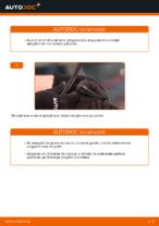 Cum se înlocuiesc lamele ștergătoarelor de parbriz din față ale automobilului VOLKSWAGEN POLO IV (9N_)