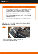 hinten und vorne Bremsscheiben VW Golf IV Schrägheck (1J1) | PDF Wechsel Tutorial