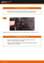 Ruitenwissers veranderen VW POLO: werkplaatshandboek