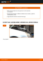 VW POLO töökoja käsiraamat