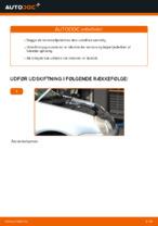 Skifte Støddæmper VW POLO: værkstedshåndbog