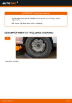bak och fram Länkarm VW PASSAT | PDF instruktioner för utbyte