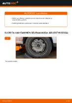VW POLO Alatukivarsi vaihto: ohjekirja
