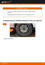 Jak zmienić Wzmocnienie krzyżowe zawieszenia VW POLO: darmowy pdf
