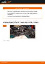 Ako vymeniť pružiny predného zavesenia kolies na VOLKSWAGEN PASSAT B5 (3BG, 3B6)