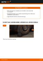 Kuidas vahetada tagumise suspensiooni amortisaatoreid autol VOLKSWAGEN PASSAT B5 (3BG, 3B6)