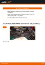 Kuidas vahetada esimesi suspensiooni vedrusid autol VOLKSWAGEN PASSAT B5 (3BG, 3B6)